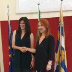 Turin TIM MoU handshake 2019