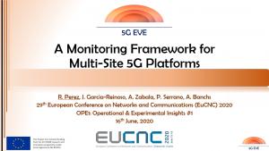 EuCNC 2020 presentation 5G EVE