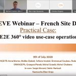 Video of French 5G EVE Demo Webinar