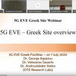 Video of Greek 5G EVE Demo Webinar