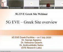 Greek 5G EVE Demo Webinar 2020