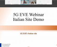 Italian 5G EVE Site Webinar
