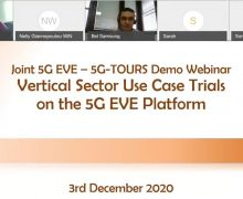 5G EVE – 5G-TOURS Webinar Video