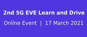 2nd 5G EVE Learn & Drive